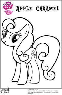 Coloring Mlp Apple Family Pages Minister Colori And Unique Name Page Best Book D Unk Caramel