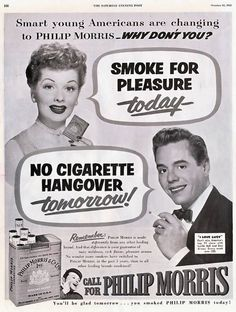 Follow The History Of Smoking In Advertising--From Aspirational To Shameful