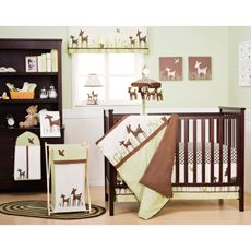 Kids Line™ Willow 4-Piece Crib Bedding Set and Accessories-buybuy BABY