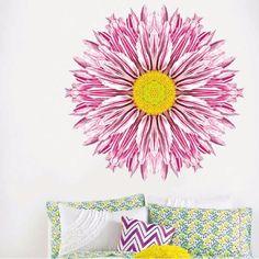 Chrysanthemum. Mandalas. My vinilo. vinilos decorativos. decoración de pared. papel tapiz. Decohunter. Encuentra donde comprar este producto en Colombia