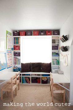 Organized School Room - Making the World Cuter