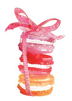 Art and food....yummy: Samantha Hahn illustration