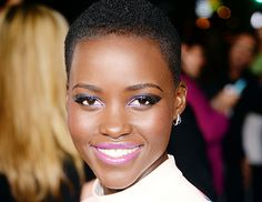 @Byrdie Beauty - Exclusive: The Best of Lupita Nyong'O's Red Carpet Looks   Tips from Her Makeup Artist