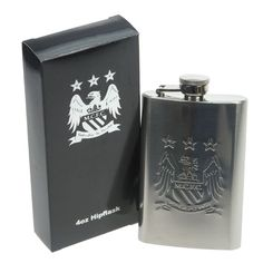 Official Manchester City FC Hip Flask - £29.99