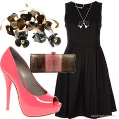 just need the perfect LBD for my hot pink heels