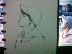 dibanding mirip Jackson, sekilas malah mirip  Nam Woohyun -___- maafkan~ @gitasaktinurpratama  #Jackson #Got7  #Fly  #황잭슨 #잭슨 #갓세븐 #남우현  #infinite #인비니트 #fanart #fanartgot7 #skecth