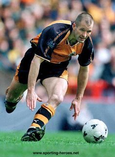 Steve Bull - Wolverhampton Wanderers FC - League appearances for Wolves.