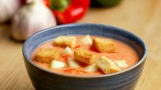 Healthy Homemade Gazpacho To Cool You Off - YouTube