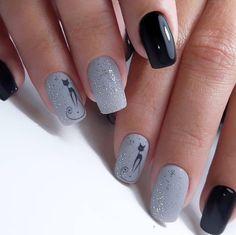 Winter Nails Designs - My Cool Nail Designs Latest Nail Designs, Cool Nail Designs, American Nails, Cat Nails, Super Nails, Nagel Gel, Beautiful Nail Art, Nail Trends, Winter Nails