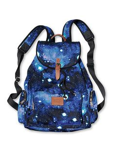Victoria's Secret PINK Backpack Just got this galaxy backpack ^^ Galaxy Backpack, Backpack Purse, Sequin Backpack, Handbags For School, School Bags, Mochila Galaxy, Fashion Bags, Fashion Backpack, Mochila Jansport