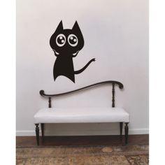 #cat  wall sticker