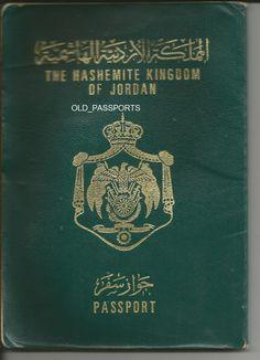 PASSPORT THE HASHEMITE KINGDOM OF JORDAN