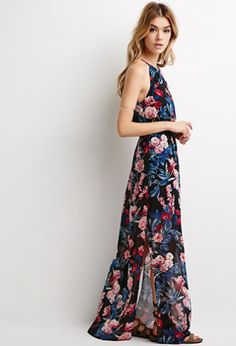 Bring glam to the festivals with this blossoming floral maxi