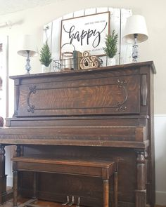 "3,689 Likes, 182 Comments - JoEllen (@therusticfarmhouse) on Instagram: ""I love my piano but I can't decide if I should keep her or let her go.. . . I spent quite a few…"""