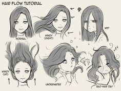 [Manga] - Dessiner les cheveux correctement