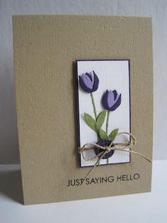Gorgeous use of Memory Box Tulip Petals die (98317)