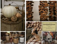 rustic / primitive projects - like the birdhouse, the dog is so cute!
