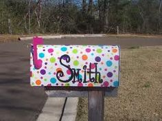 painted mailboxes - Google Search