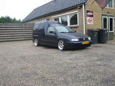 VW Caddy MK2 on Artec L wheels