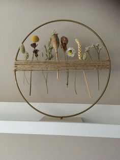 Deco Nature, Art Diy, Nature Crafts, Crafty Craft, Flower Crafts, Dried Flowers, Diy Gifts, Flower Arrangements, Diy Home Decor