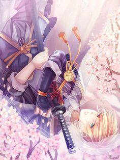 touken ranbu Part 8 - - Anime Image Fantasy Characters, Anime Characters, Touken Ranbu Mikazuki, Anime Warrior, Boy Face, Bishounen, Manga, Milky Way, Japanese Art