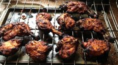 Chicken marinated in yogurt makes delightful homemade tandori style chicken Indian Vegetarian Dishes, Indian Dishes, Indian Food Recipes, Ethnic Recipes, Yogurt Marinated Chicken, Marinated Chicken Recipes, Popular Indian Food, Pakistan Food, Food Names