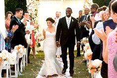 Figure hugging dresses DO work for curvy gals!  Celebrity Wedding Dresses: TV  Movies: America Ferrera