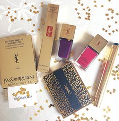 YSL wild gold collection