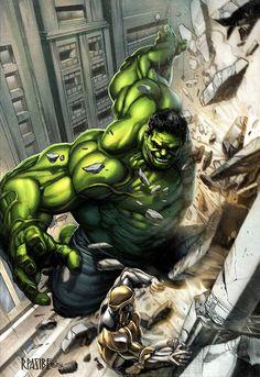 The Hulk #Marvel #comic #hulk . Pin and follow pyra2elcapo