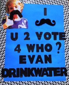 I Mustache U 2 Vote - 25 Hilarious Student Council Campaign Poster Ideas Slogans For Student Council, Student Council Campaign, Student Leadership, Campaign Signs, Campaign Ideas, School Campaign Posters, Hobbies For Kids, Learning Time, Teacher Tools