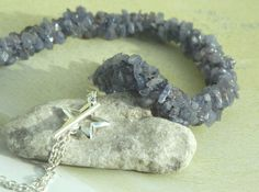 Tanzanite Luxury Gemstone Kumihimo Braided by GiraffeJewelleryBox