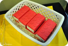 The Thriftress: Lego Party Part One: Decorations and Food