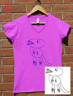 Items similar to Personalized Cotton T-Shirt - Ladie's Top Custom Silk Screen Print Your Child's Drawing on Jersey Knit Cotton Top Keepsake Gift for Mom on Etsy Grandma Gifts, Gifts For Mom, Personalized T Shirts, Custom Shirts, Proud Mom, Silk Screen Printing, Drawing For Kids, Colorful Shirts, To My Daughter