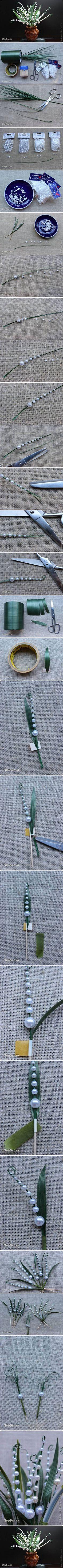 ръчна изработка lacramioare perlate 1 Собственоръчно lacramioare perlate Tutorial