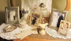Shabby Bridal Vignette