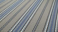 Blue Carpet, Traditional Interior, Carpet Stairs, Carpet Runner, Stripes, Pure Products, Contemporary, Carpets, Weaving
