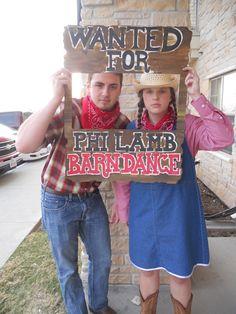 Barn Dance Date Party ideas