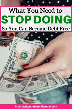No matter if you're on a debt-free journey or simply trying to pay off debt a little faster, here are tips to make sure you aren't in debt denial. This post will give you ideas for stopping the denial and making progress with your debt payoff. Cash Loans Online, Fast Loans, Student Loan Debt, Get Out Of Debt, Managing Your Money, Free Tips, Debt Payoff, Budgeting Tips, Debt Free