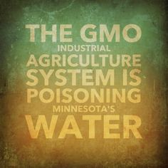 The Minnesota Pollution Control Agency issued a troubling report about the severity of health hazardous nitrate pollution in MN water. 27% of lakes/rivers are now severely polluted & 70% of the pollution comes from cropland! The pollution appears to be largely GMO industrial agriculture system related: http://mnenvironmentalillnessnetwork.tumblr.com/post/54362460278/mn-poisoned-water The SYSTEM is a health hazard! #cancer #BirthDefects #depression #thyroid #IBD #Alzheimers #diabetes…