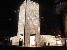 Louis Vuitton's Pudong IFC Mall Flagship Store in Shanghai
