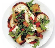 Chicken and Olive Bread Panzanella