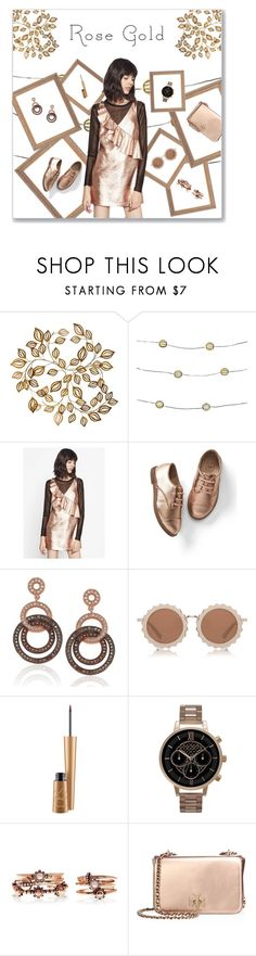 """""""ROSE GOLD"""" by regkelly ❤ liked on Polyvore featuring Order Home Collection, Gap, Suzy Levian, House of Holland, Mariah Carey, Olivia Burton and Tory Burch"""