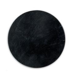 marble board   black marble board, round size: 30 cm diameter