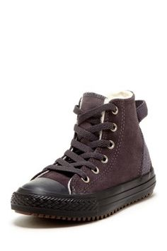 I love these Converse!  They look like hiking boots!