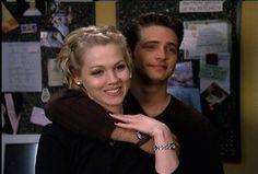 Still of Jason Priestley and Jennie Garth in Beverly Hills, 90210 (1990)