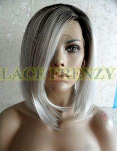 #backinstock Aurora – Bob Styled – Lace Front Wig