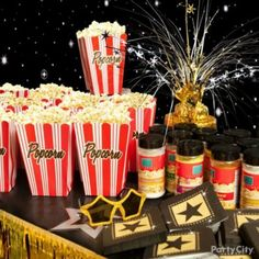 Image detail for -hollywood party serveware hollywood table wall window decorations ...