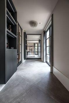 Large Floor Tiles, Diy Interior, Interior Design, The Floor Is Lava, Hallway Designs, Decoration, Sweet Home, New Homes, House Design