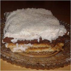 Γλυκό ψυγείου με μπισκότα και μήλα! ~ ΜΑΓΕΙΡΙΚΗ ΚΑΙ ΣΥΝΤΑΓΕΣ