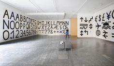 Kellenberger-White, Reid Gallery, The Glasgow School of Art Photo: Alan Dimmick. Glasgow International Festival of Visual Art identity.
